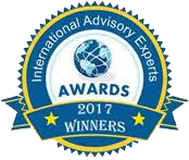 International Advisory Experts Awards Winner 2017